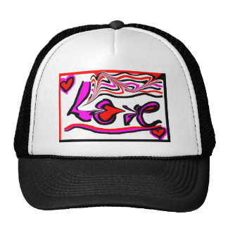 Love Mesh Hat