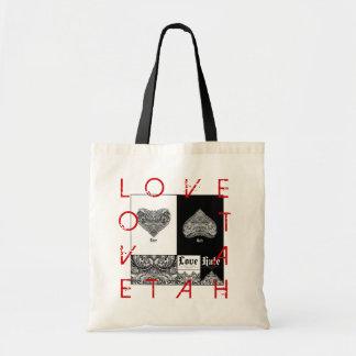 Love Hat Tote Bag