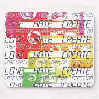 Love. Hate. Create. Mouse Pad