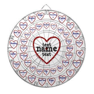 Love & Hate - Custom Dart Board