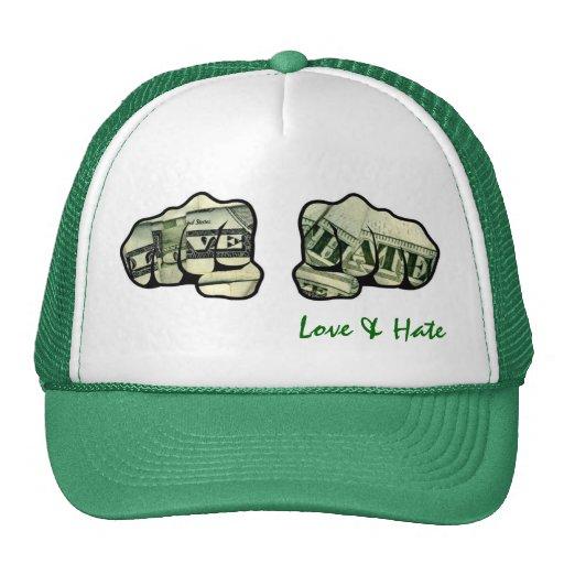 love & hate gorras