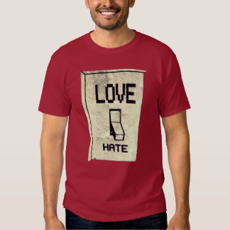 Love hate Light Switch Shirt