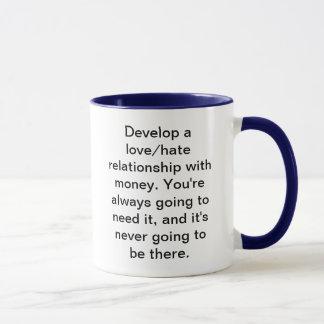 Love/Hate Money Mug