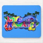 LOVE HAWAII09 LOGO マウスパッド