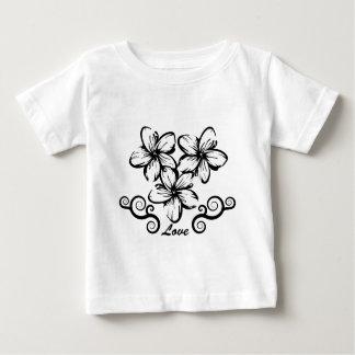 Love Hawaii Plumeria Baby T-Shirt