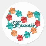 Love Hawaii Stickers