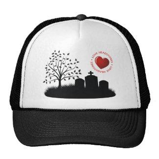 Love Headstones Trucker Hat