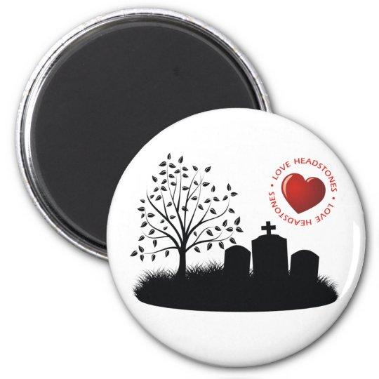 Love Headstones Magnet