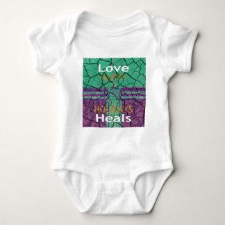 Love Heals Baby Bodysuit