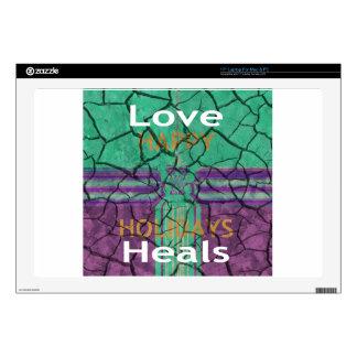 Love Heals Decals For Laptops