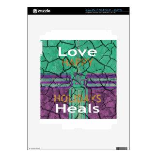 Love Heals iPad 3 Skins