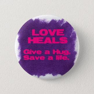 Love Heals Pinback Button