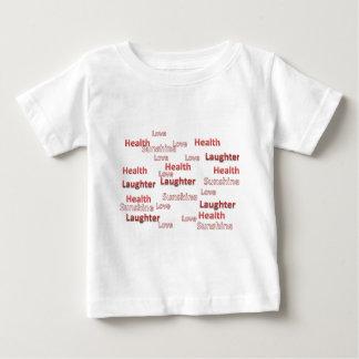love health laughter sunshine baby T-Shirt