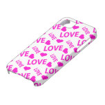 Love Heart 1 Pink iPhone 5 Covers