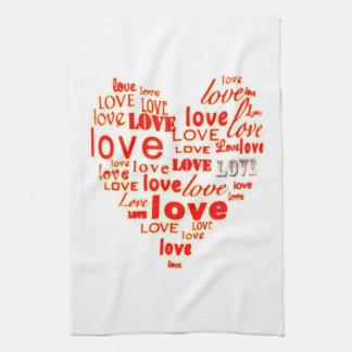 Love Heart American MoJo Kitchen Towels