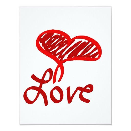 Love Heart Announcement