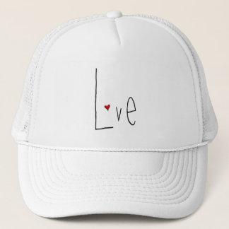 Love Heart black Hat