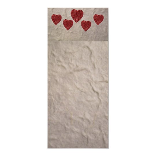 love heart bookmark invitation zazzle com