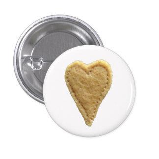 Love Heart Button Badge