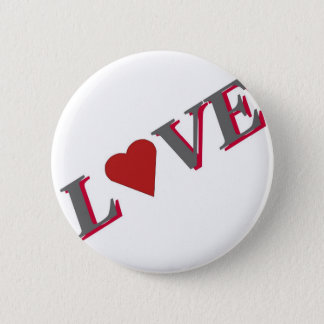 Love Heart by Celeste Sheffey Pinback Button