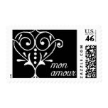 Love Heart C by Ceci New York Postage Stamp