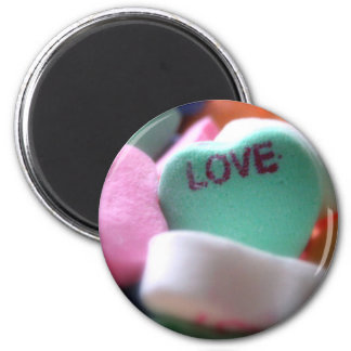 Love Heart Candy Magnet