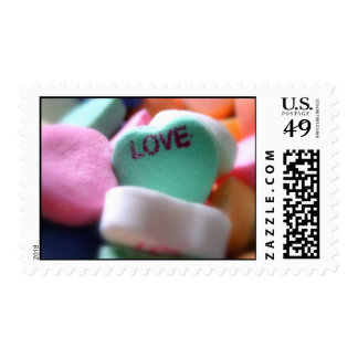 Love Heart Candy Postage