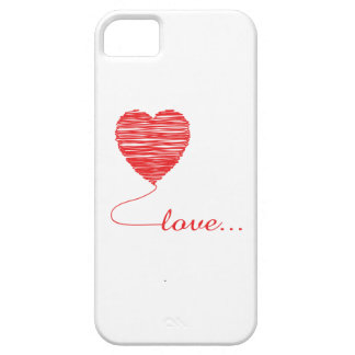 Love Heart Card iPhone 5 Case-Mate Barely There™ iPhone SE/5/5s Case