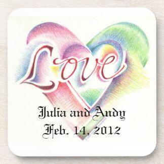 Love Heart Coaster