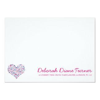 Love Heart Correspondence Cards