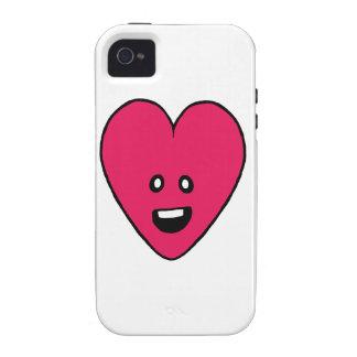 Love Heart cute health indicator design Case-Mate iPhone 4 Case
