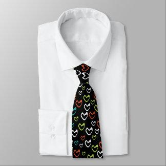 Love Heart Cute Pattern Sweetheart Neck Tie