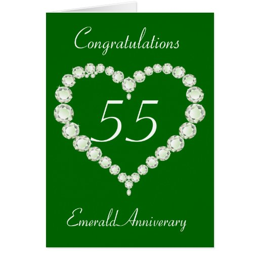 55th Wedding Anniversary Cards 55th Wedding Anniversary Card Templates Postage Invitations