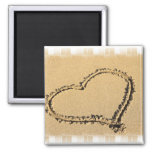 Love Heart Drawing Magnet Refrigerator Magnet