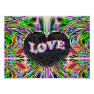 Love Heart eARTh Poster