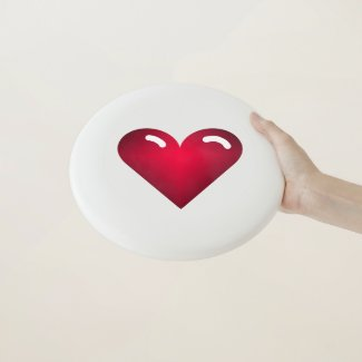 Love Heart Frisbee Gift For Her