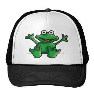 love heart frog gorras de camionero