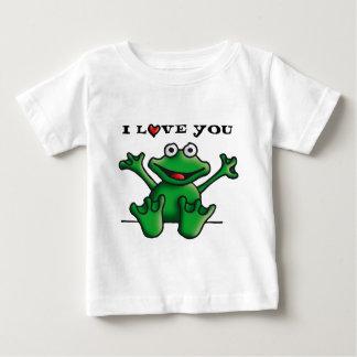 love heart frog playeras
