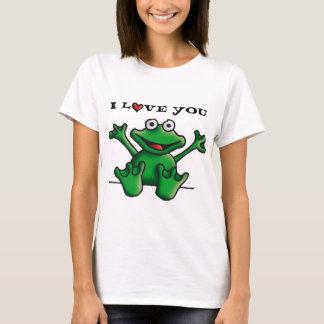 love heart frog T-Shirt