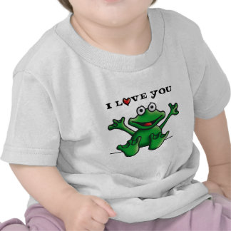 love heart frog tees