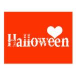 Love - Heart - Halloween Post Cards