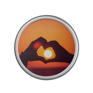 Love Heart Hands Symbol Bluetooth Speaker