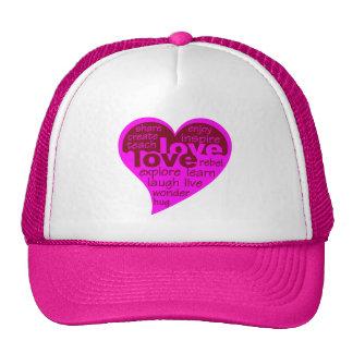 Love Heart hat