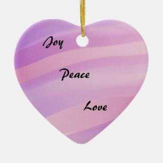 Love Heart Holiday Ornament