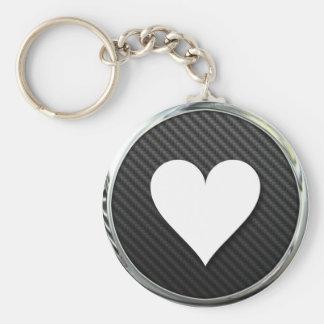 Love Heart Icon Keychain
