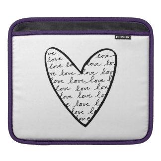 Love Heart Sleeve For iPads