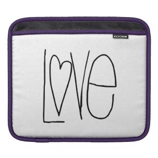 Love Heart iPad Sleeves