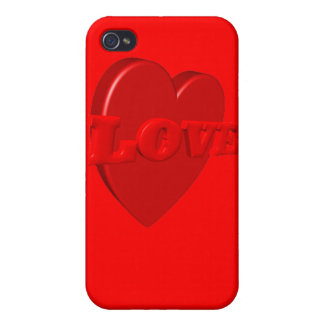 Love Heart iPhone Case iPhone 4/4S Cover