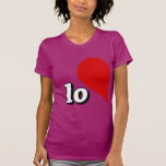 LOVE HEART LEFT SIDE -.png Tshirts