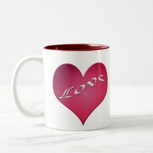 Love Heart Mugs